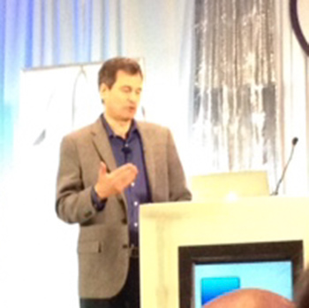 The keynote speaker, David Pogue, was fantastic. I really enjoyed his presentation.
