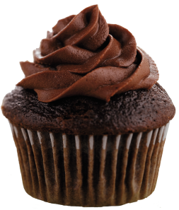 I think I earned a cupcake for this--what do you think? Yum...chocolate cupcake....