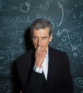 """Ah, glad to see that you are working on stretching your intelligence, TechCommGeekMom. Now, when you are done, you can help me with this equation on this board..."" --The 12th Doctor"