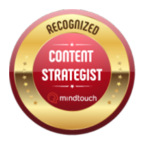 I am a Top 200 Recognized Content Strategist!