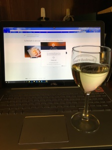 I was told to prepare for the onslaught of big corrections to my DITA homework with a glass of wine. I took the suggestion seriously, thankfully.